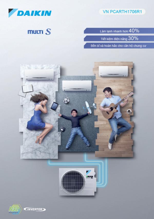 Máy lạnh Daikin Multi Inverter giá tốt