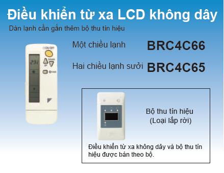 Những ưu điểm hoàn hảo khi sử dụng máy lạnh giấu trần nối ống gió. REMOTE-BRC4C66