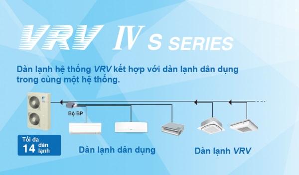 Thiết kế thi công hệ thống lạnh VRV IV S series